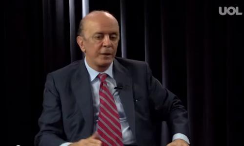 Entrevista senador José Serra à TV UOL – 27/02/2015