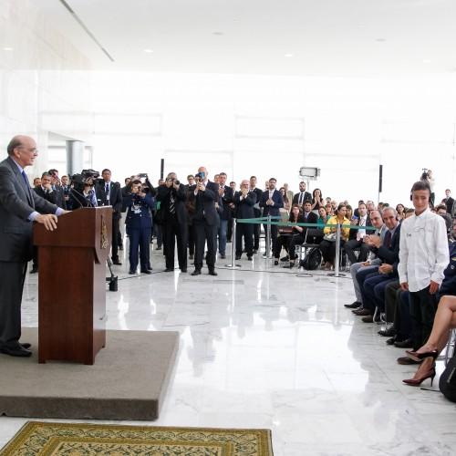 Discurso por ocasião da cerimônia de condecoração de autoridades da Colômbia em Brasília