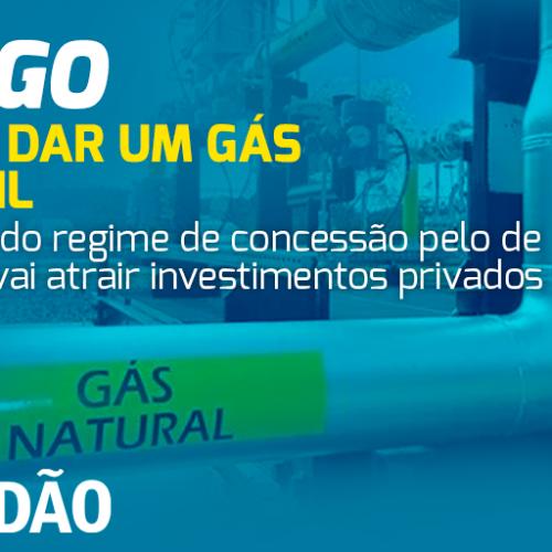 Hora de dar um gás no Brasil