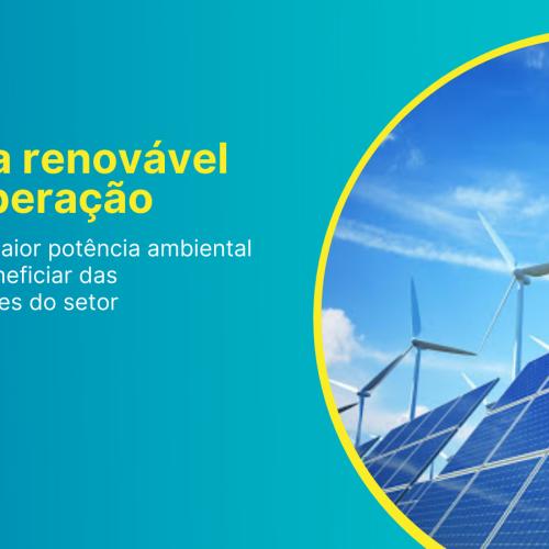 Energia renovável e recuperação